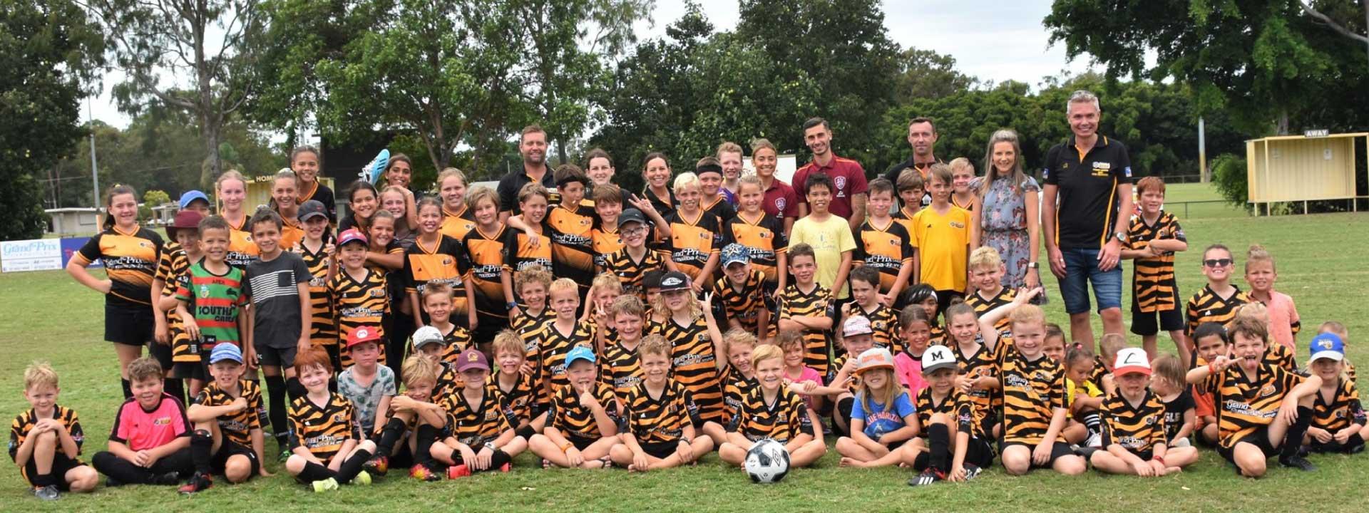 soccer bribie island tigers football club